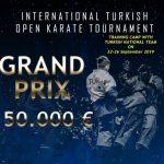 Uluslararası Turkish Open Karate 27-29 Eylül'de…