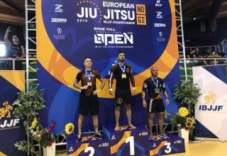Flaş! Avrupa Jiu Jitsu'da Kürsü Kapattı!  MURAT EFENDİ NOGİ'DE AVRUPA ŞAMPİYONU