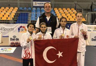 Avrupa Yıldızlar Taekwondo Şampiyonası'nda İlk Gün 4 Madalya