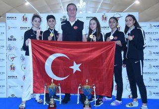 Türkiye, Avrupa Gençler Taekwondo Şampiyonası'nı 5 madalya ile tamamladı