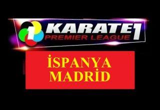 Karate Milli Takımı, Karate 1 Premier Lig'in Son Etabına Madrid'de Çıkıyor…
