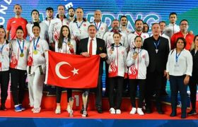 Türkiye, kadınlarda Avrupa şampiyonu