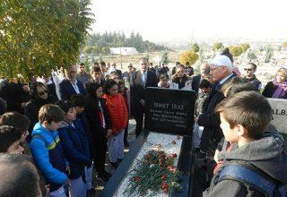 İsmet Iraz, Vefatının 2. Yıl Dönümünde Kabri Başında Anıldı