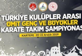 Türkiye Kulüplerarası Karate Takım Şampiyonası, 20-22 Aralık'ta…