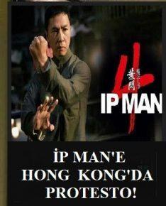 İP MAN 4'E HONG KONG GİŞESİNDE PROTESTO!