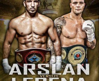 IBO yarı ağır sıklet dünya şampiyonluk maçında Fırat Arslan Almanya'da ringe çıkıyor…