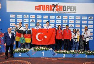 Türkiye Açık Taekwondo Turnuvası'nda 239 madalya…