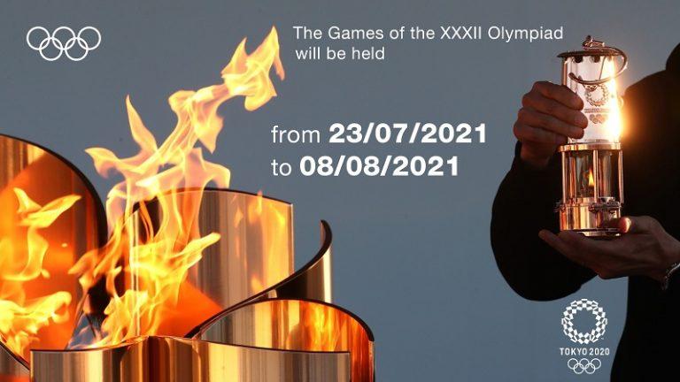 """Flaş! Tokyo Olimpiyat Oyunları'na Yeni Tarih, """"23 Temmuz-8 Ağustos 2021"""""""