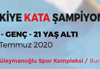 15 Temmuz Türkiye Kata Şampiyonası Bursa'da Yapılacak