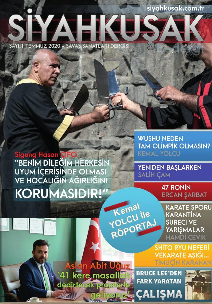 Flaş! SİYAHKUŞAK E Dergi Yayınlandı