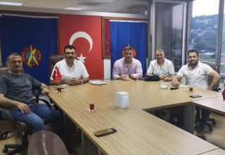 TKF BAŞKANI ESAT DELİHASAN'DAN SPOR İŞVERENLERİ SENDİKASI'NA ZİYARET