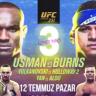 UFC Dövüş Adası'nda Bir Gecede 3 Kemer Maçı!