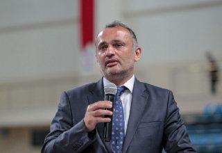 TKF Başkanı Esat Delihasan'dan Camiaya Teşekkür…