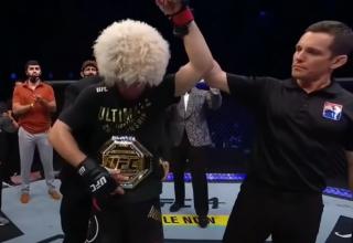 Khabib Nurmagomedov, UFC 254 Ana Etkinliğinde Justin Gaethje'ye Karşı Kazandı Ve Emekliliğini Duyurdu