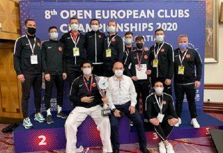 Taekwondo Milli Takımı, Büyükler Kategorisinde Takım Halinde Şampiyon Oldu