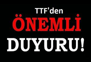 8. Uluslararası Türkiye Açık Taekwondo Turnuvası Hakkında TTF'den Duyuru