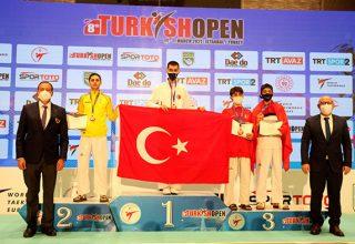 8. Uluslararası Türkiye Açık Taekwondo Turnuvası'nda 22 Altın, 20 Gümüş ve 28 Bronz, Toplam 70 Madalya