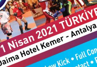 6. Uluslararası Türkiye Açık Kick Boks Avrupa Kupası Antalya'da Yapılacak