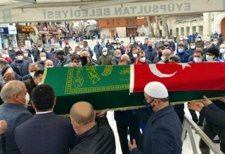 TKF BAŞKANI ESAT DELİHASAN'A SON GÖREV