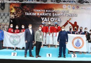 Kadınlar Kategorisinde Ankara Başkent Çınar Spor Kulübü