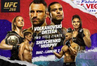 UFC 266'DA İKİ DEV KEMER MACI